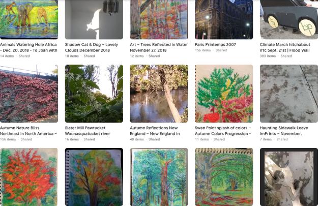 art, photography, Carol Keiter, paintings, portraits