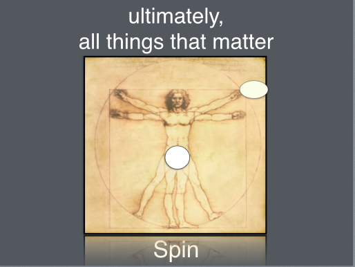 Ultimately, All Things that Matter, Spin - Front Side