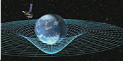an image of Einstein's space time relativity
