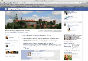 Facebook pre-meet hitchgathering in Krakow