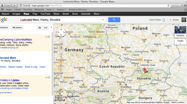 google_map_slovakia_location_hitch_aug3