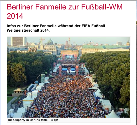 FanMeile Berlin's Fan Mile