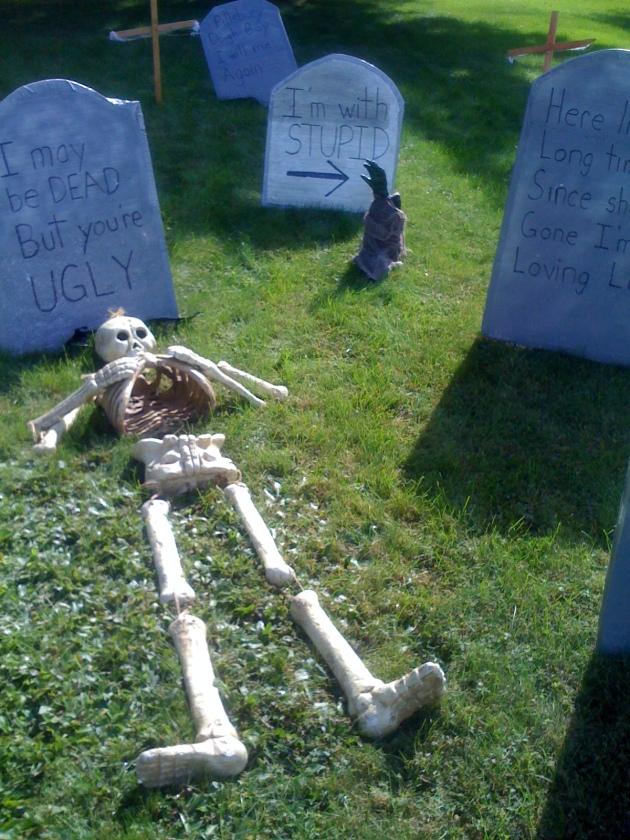 funny tomb stones