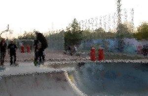 Gleiesdreiecke Skate Park