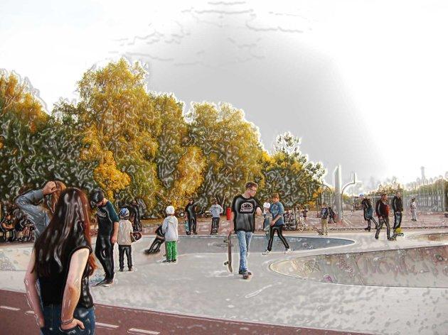 Gleiesdreiecke Park