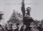 Racism Hitler at Rally in Nuremberg, Germany 1929