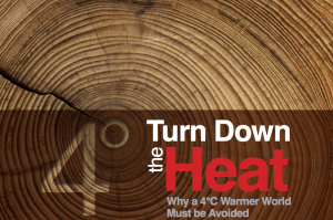 World Bank study Turn Down the Heat Why a 4 degree waker world MUST be avoided