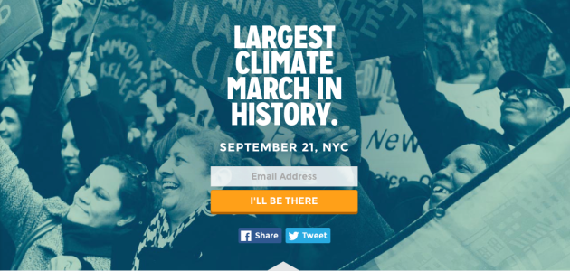 People's Climate March September 21st NYC