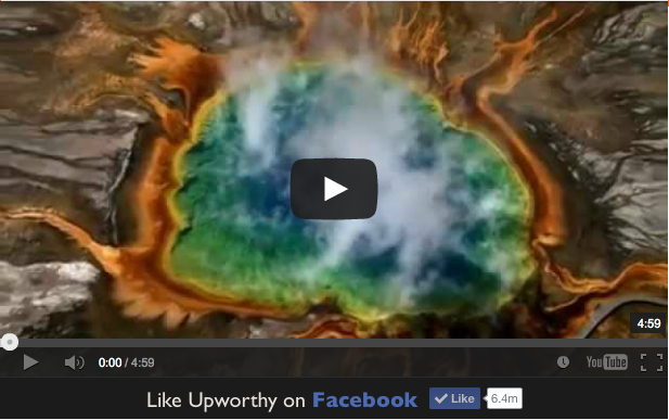 Upworthy Video If you Live on Earth