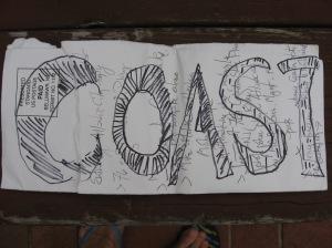Coast sign