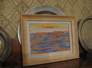 ocean_sunset_framed