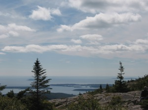 Cadillac Mountain in Acadia National Park on Mt. Desert Island