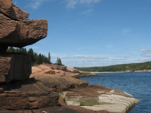 rock ledges Acadia Natl. Park