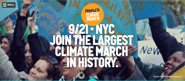 Peoples_Climate_March September 21st in nYc