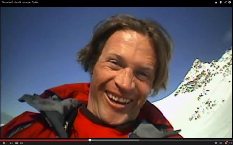 Shane McConkey, extreme skier, base-jumper, wingsuit