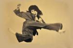 Steven Ho, flying kick
