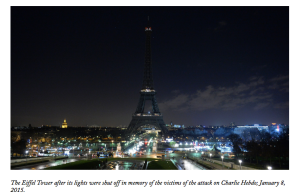 Charlie Hebdo, the New Yorker, Teju Cole, the Eiffel Tower