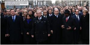World Leaders, Hypocrites, Charlie Hebdo, liberté