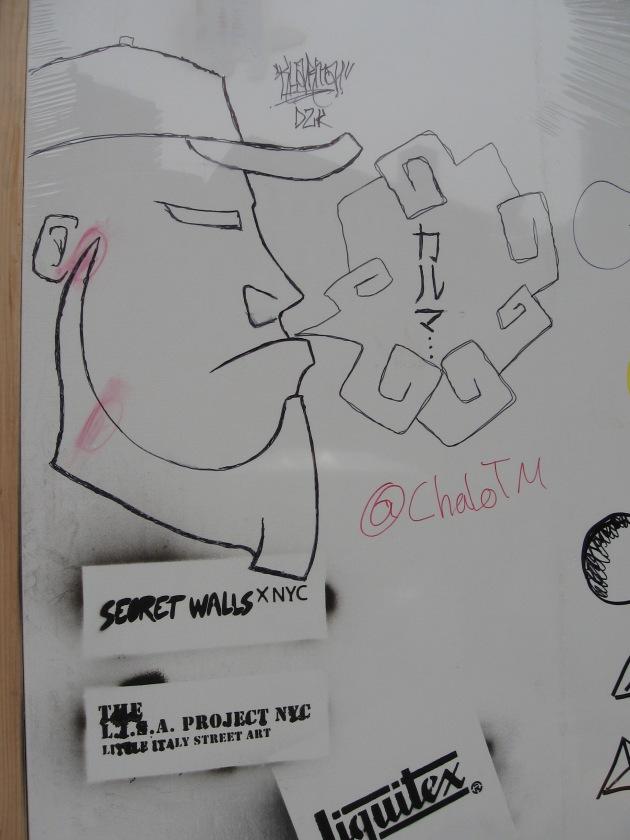 Secret Walls, Graffiti,  L.I.S.A project