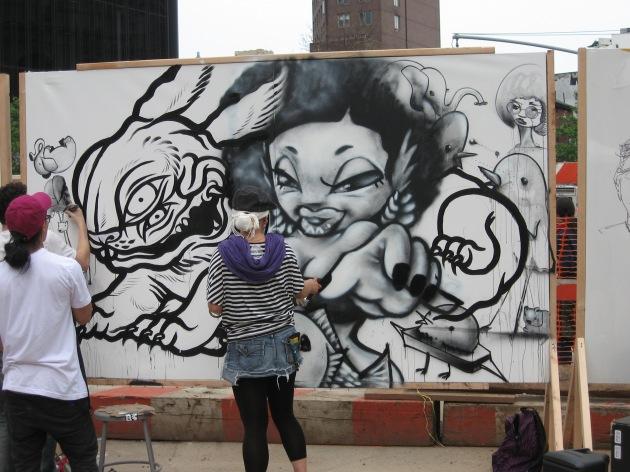 Graffiti competition, Secret Walls, L.I.S.A. project, Little Italy Street Art
