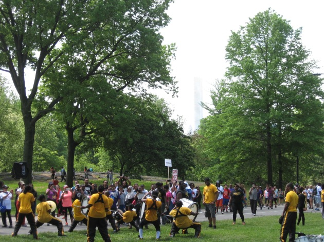 AIDS Walk, Central Park NYC