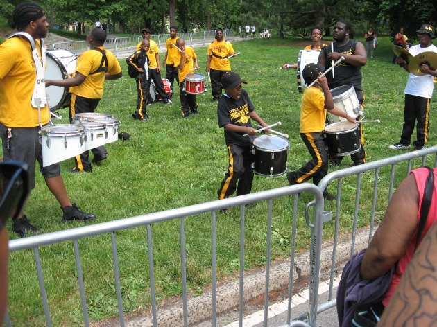 Black & Gold Marching Elite band