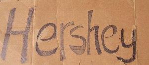 Hershey sign