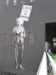 highline, graffiti, einstein