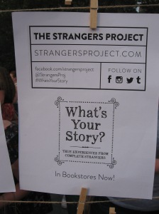 what's your story? the strangers project