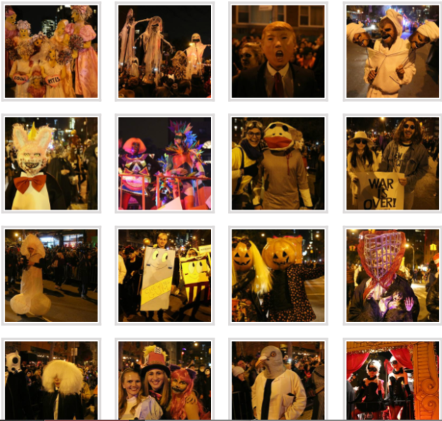 Gothamist, wild costumes, Village Halloween Parade nYc  2015