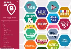 Place to B, Agenda COP 21 Events, Program, Seminars, Radio...