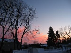 the last sunset shot in Pennsylvania