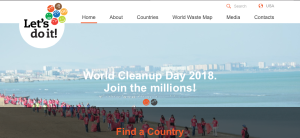 Let's do It, World Cleanup Day 2018