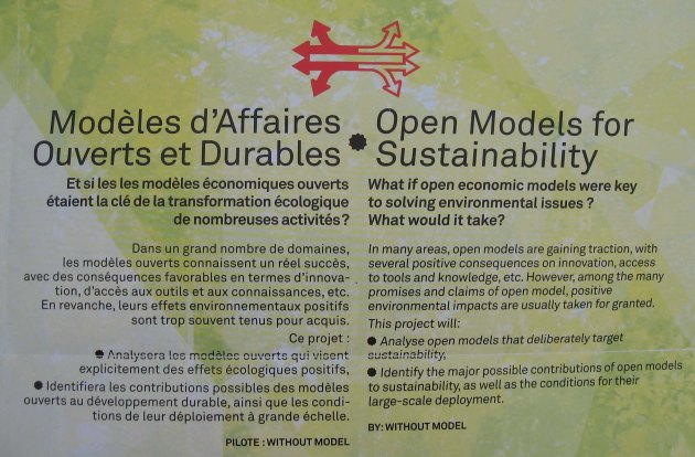Open Models for Sustainability