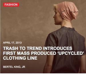 Trash to Trend, Estonian, Upcycled, Clothing Design
