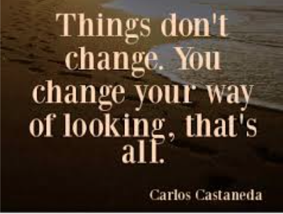 Carlos Castaneda, Perception Changes