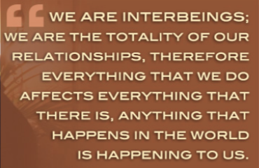 Charles Eisenstein, Interbeings