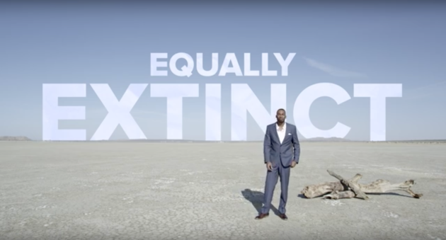 Dear Future Generations: Sorry Prince Ea. If we do nothing, regardless of racism, sexism, inequality... we will be Equally Extinct