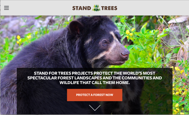 buy Stand For Trees Certificate, forest communities, specific forest, tonne, CO2, earth's atmosphere.