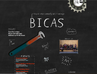 BICAS bicycle inter-community art and salvage