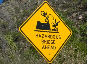 a hazardous bridge is far better than a wall :-)