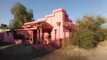 pink adobe