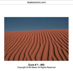 Bill Baker's, photography, desert.