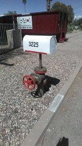 fire hose mailbox