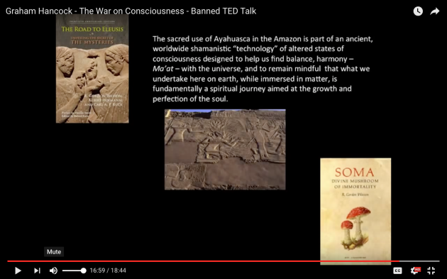 Graham Hancock, The War on Consciousness, ancient traditions, psychoactives, Soma of the Vedas