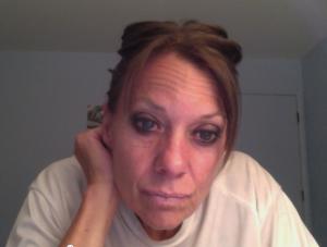 Carol Keiter the blogger pensive