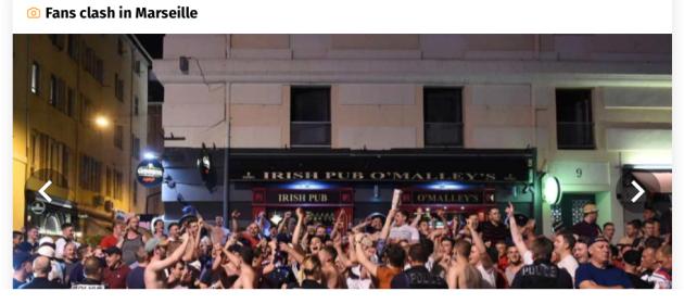 Fans, Clash, Marseille, Brit, Football, hooligans, racism, France