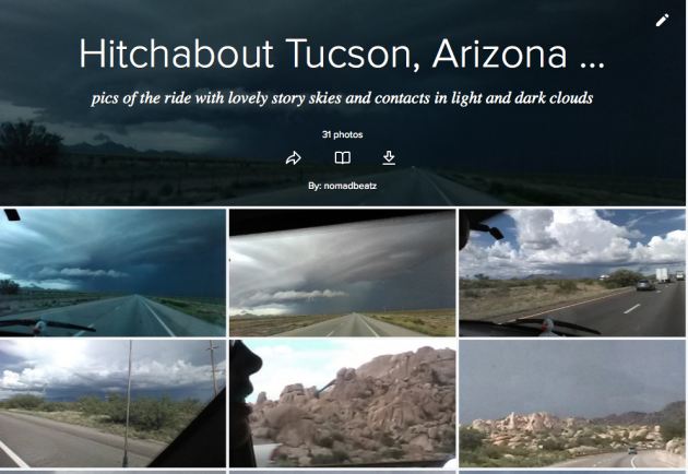 flickr hitchabout tuscon arizon link to pics