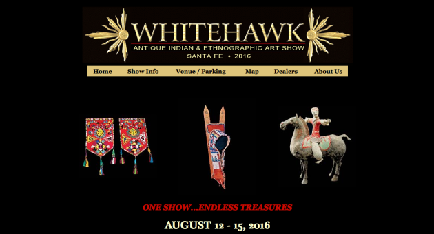Whitehawk Antique, Indian, Ethnographic Art Show