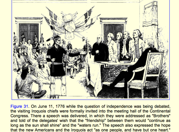 Iroquois, 6-nations, Participatory Democracy